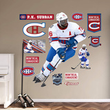 NHL P.K. Subban 2015-2016 Winter Classic RealBig Wall Decal