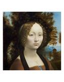 Ginevra de' Benci, c. 1474-1478 Plakater af Leonardo Da Vinci