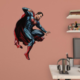 DC Batman v Superman Attacking Superman Fathead Jr. Wall Decal