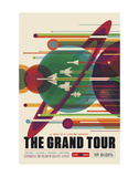 The Grand Tour Art by  Vintage Reproduction