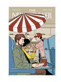The New Yorker Cover - April 4, 2016 Regular Giclee Print by Jaime Hernandez