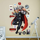 Marvel Avengers Assemble Thor 2015 RealBig Wall Decal