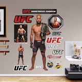 UFC Demetrious Johnson 2015 RealBig Wall Decal