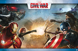 Captain America Civil War- Clash Of Heroes Prints