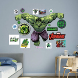 Marvel Avengers Assemble Hulk 2015 RealBig Wall Decal