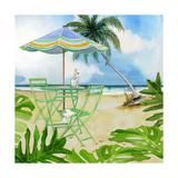 Beachside Dining 1 Prints by Mary Escobedo