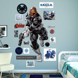 Marvel Avengers Assemble Nick Fury RealBig Wall Decal