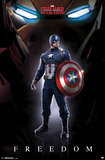 Captain America Civil War- Freedom Print