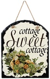 Sweet Cottage Slate Wall Sign