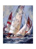 Open Sails I Posters af Brent Heighton
