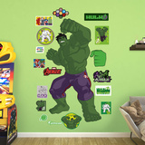Marvel Avengers Assemble Kids Hulk RealBig Wall Decal