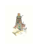 Lobster Bay Light Print by Lisa Danielle
