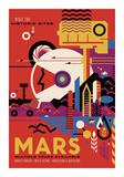 Vintage Reproduction - Mars - Giclee Baskı