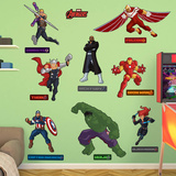 Marvel Avengers Assemble Kids RealBig Collection Wall Decal