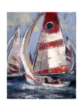 Open Sails II Premium Giclee Print by Brent Heighton