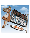 Mom's All-You-Can-Eat Kitchen Affiches par Anthony Ross