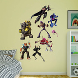 Teenage Mutant Ninja Turtles 2015 Enemies RealBig Collection Wall Decal
