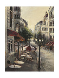 Promenade Cafe Premium Giclee Print by Brent Heighton