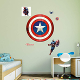 Marvel Avengers Assemble Captain America's Shield RealBig Wall Decal