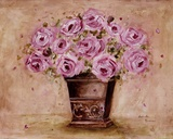 Classic Pink Roses Prints by Antonette Bowman