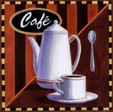 Cafe Posters by Geoff Allen