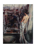 Wistful Gaze Premium Giclee Print by Laurel Lehman