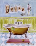 Bath I Posters by Jennifer Sosik