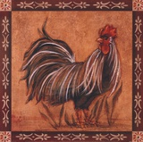 Rooster II Art by Grace Pullen
