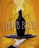 Bubbly Print by Darrin Hoover