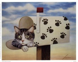Toulouse Largent Poster by Lowell Herrero