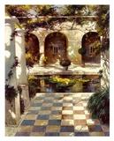 Courtyard Villa I Print by Vitali Bondarenko