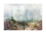 Our Paris Premium Giclee Print by Ken Roko