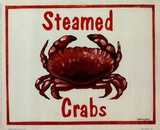 Steamed Crabs Art by Catherine Jones