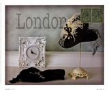 London Hat Art by Judy Mandolf