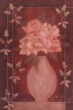 Fleurs Rouge II Poster by Jennifer Carson