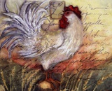 Le Rooster II Posters by Susan Winget