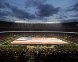 American Flag at Levi's Stadium Photo av Eric Risberg
