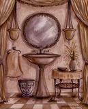 Charming Bathroom IV Poster af Kate McRostie