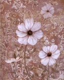 Lace Flowers I Poster by Lisa Ven Vertloh