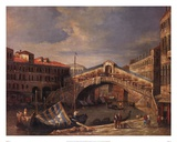 Venice Bridge Prints by Paul Stanley