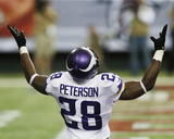 Adrian Peterson Photo by Butch Dill