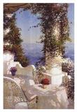 Positano Seascape Poster von Vitali Bondarenko