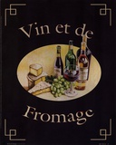 Vin Et De Fromage Prints by Catherine Jones