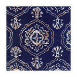 Delft Blue Pattern 4 Poster by Hope Smith