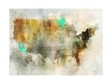 Earth Tones Usa Prints by Ken Roko