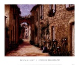 Tuscan Light Prints by Stephen Bergstrom