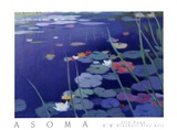 Lily Pond Posters by Tadashi Asoma