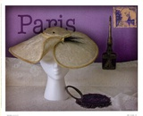 Paris Hat Posters by Judy Mandolf