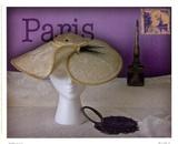 Paris Hat Prints by Judy Mandolf