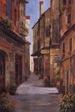 Village Alleyway Prints by Alfred Herbert
